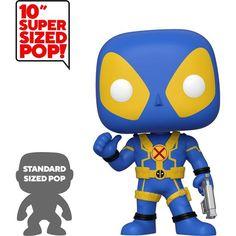 Vinyl Figure Thumbs Up Gold Deadpool 25 cm Funko Mini Deadpool Super Sized POP