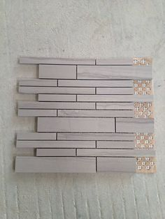Brown Wooden Marble Wall Tile