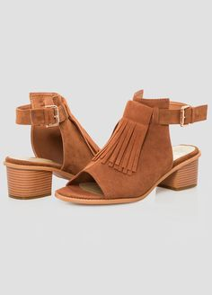 Chunky Heel Sandal - Wide Width Chunky Heel Sandal - Wide Width