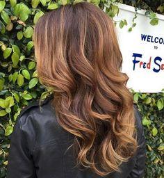Best ideas about brown hair caramel highlights (207)