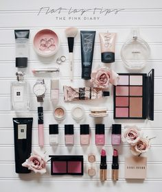 FLAT LAY TIPS | THE PINK DIARY | Bloglovin'