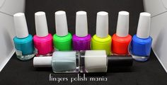 Fingers Polish Mania: Spring Day Scene with Pipedream Polish Neons