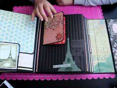 Album Le Tres Chic Bellaluna crafts Scrapbooking - YouTube Decorative Storage, Diy Storage, Album Gorjuss, Mini Albums, Tutorial Scrapbook, Scrapbook Albums, Craft Tutorials, Scrapbooks, Paper Crafts