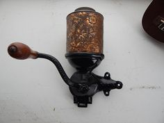 1894 Royal Coffee Grinder Antique Coffee by AtomicRestorations