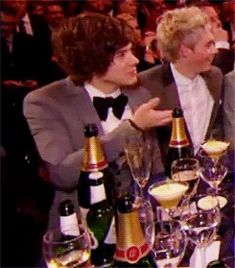{GIF} realizing he's taken a swig of booze on national television whilst under age hahahahaha only Harry