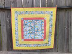 Baby Quilt by TeaTimeQuiltsnMore on Etsy