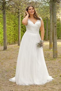 Ladybird Plus Size bruidsmode - Style - View the new wedding dress coll. - Ladybird Plus Size bruidsmode – Style – View the new wedding dress collection and find your dream dress! Source by - Plus Size Wedding Gowns, New Wedding Dresses, Boho Wedding Dress, Plus Size Dresses, Plus Size Brides, Curvy Bride, Curvy Dress, Dream Dress, Dress Collection
