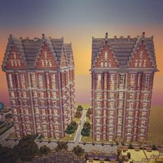 #minecraft Vetropolis Arms Apartments opening soon http://www.veterancraft.net