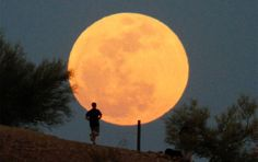 Supermoon (Arizona) - http://www.scoop.it/t/science-news/p/1719281835/supermoon-arizona