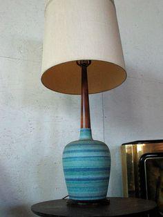 Stripey lamp