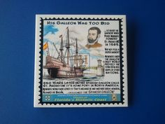 His Galleon Was Too Big by HistoryIllustrations on Etsy