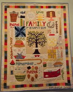 Lori Holt Family Reunion Quilt Pattern 22 Pretty Quilts