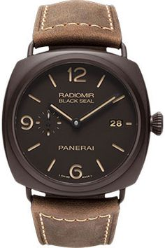 Panerai Radiomir Composite Black Seal 3 Days Automatic (Style No: PAM00505) from SwissLuxury.Com