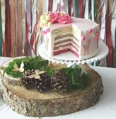 Woodland+Birthday+Party+on+Canadian+Mountain+Chic