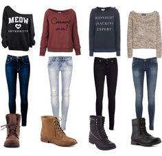 If i could find sweaters like these, I would wear them to school every day.
