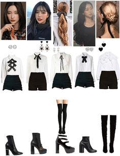 Concept, Black And White, Polyvore, Image, Fashion, Moda, Black N White, Fashion Styles, Black White