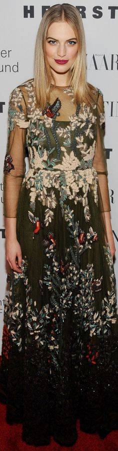 Vanessa Axente, Evening Honoring Valentino Gala NYC 12-7-2015