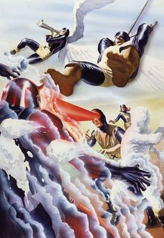 Marvel Comics Cover Recreations by Alex Ross