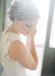 Bride | Seaside, Florida Wedding from Lauren Kinsey |   Read more - http://www.stylemepretty.com/2013/11/20/seaside-florida-wedding-from-lauren-kinsey/