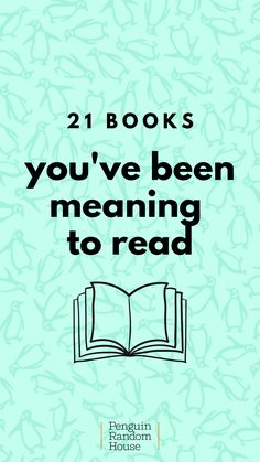 21 bucket list books to read now! Cheers to the books weve been meaning to read that we should probably start now Books To Buy, Books To Read, Professor, Christmas Books For Kids, Good New Books, Quotes For Book Lovers, Summer Reading Lists, Penguin Random House, Love Book