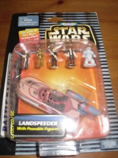 Star Wars Micro Machines Cantina Encounter - with Landspeeder with Poseable-Action Figures Star Wars http://www.amazon.com/dp/B000WV5KFC/ref=cm_sw_r_pi_dp_vvhPtb14Q02C6PN1