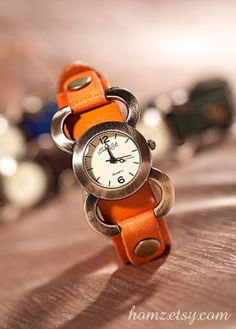 Vintage Womens Leather Watch HZWA030 by HOMZ on Etsy, $15.99