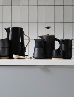 The Theo range by Stelton - minimal design - coffee moments - savouring the ritual of coffee making