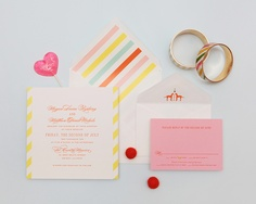 So I found my actual wedding invitation on pinterest!   Cheree Berry Paper | Oh So Beautiful Paper