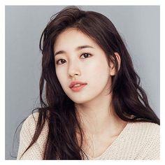 Bae Suzy for Clalen 2017 Japanese Beauty, Korean Beauty, Asian Beauty, Miss A Suzy, Bae Suzy, Korean Celebrities, Korean Actresses, Korean Actors, Girl Face
