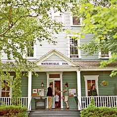 The Inn at Watervale, Arcadia, Michigan - Best Seaside Cottage Rentals - Coastal Living Mobile