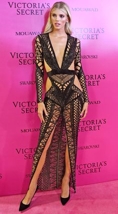 See the Hottest Looks from the 2017 Victoria's Secret Fashion Show After-Party - Dev Windsor from InStyle.com