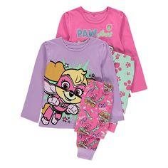 Tyttöjen Ryhmä Hau pyjama 2 pack