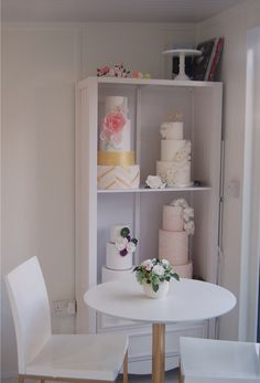 Consultation space in cake studio www.s-k-cakes.co.uk
