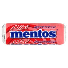 Mentos Mini Strawberry Candy chewable strawberry flavor 10.5 g - online shop Internet Supermarket