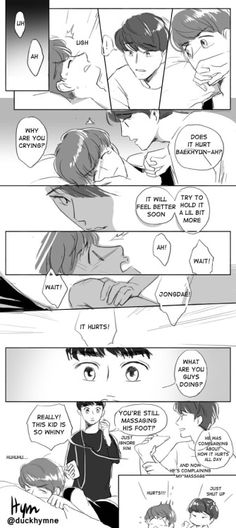 Random ChenBaek comic~