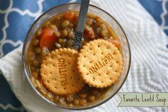 Favorite lentil soup #glutenfree #vegan