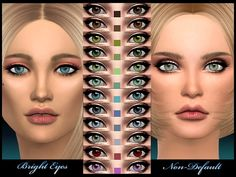 joannebernice's Non Default – Bright Eyes | Sims 4 Updates -♦- Sims Finds & Sims Must Haves -♦- Free Sims Downloads