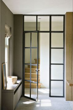 Internal Steel Doors – Steel Windows and Doors Crittal Doors, Steel Doors And Windows, Metal Doors, Sliding Doors, Wooden Doors, Interior Architecture, Interior Design, Interior Ideas, Interior Sketch