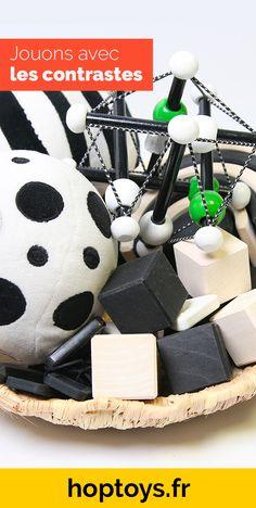 Découvrez une sélection de jouets d'éveil adaptés à la vision des bébés et aux enfants malvoyants. Ces jouets vont leur permettre de mieux interpréter les informations du jeu et de se les approprier. En effet, le noir et le blanc encourage le développement de la vision, améliorer la durée d'attention et inspire la curiosité. Jouer, Attention, Children, Attention Span, Visual Impairment, Gross Motor, Toys, Games, So Done