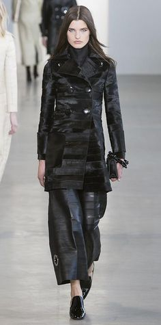 Runway Looks We Love: Calvin Klein - Fall/Winter 2015 from #InStyle
