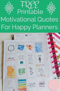 Need a bit of inspiration in your life? A jolt of motivation to get you through your day? Use these FREE Printable Motivational Quotes for…