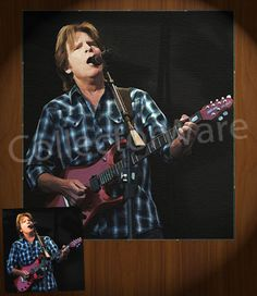 CREEDENCE CLEARWATER REVIVAL John Fogerty drawing 1 CANVAS PAINTING. All original paintings direct from the artist, available as oil or acrylic, feel free to choose the artistic technique of your preference. To purchase this, or for painting orders, please contact us at info@collectorware.com, or visit http://www.collectorware.com/canvas-ccr_andrelated.htm