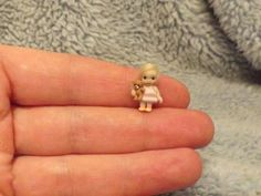 Miniature handmade MINI TINY TOY BABY GIRL DOLLY ART DOLL ooak DOLLHOUSE ARTISAN
