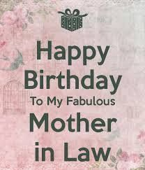 Happy Birthday To My Future Mother In Law Quotes Birthday Wishes