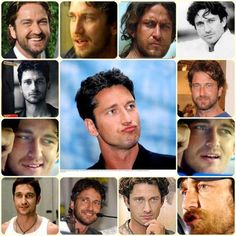 Gerard Butler collage - Twitpic