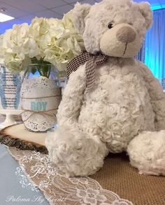 Burlap Baby Shower Baby Shower Party Ideas | Photo 1 of 13