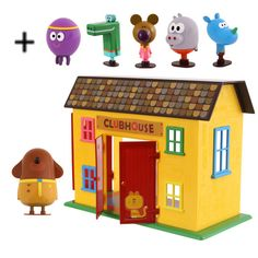 Hey Duggee Squirrel Club Playset & Figurines Bundle