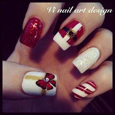 christmas by vinailartdesign #nail #nails #nailart