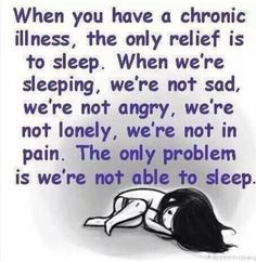 So true..... Chronic pain and suffering from chronic illnesses!