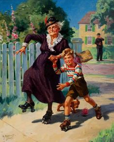 New norman rockwell merry christmas grandma at temasistemi.net
